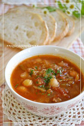 ジンジャートマトスープ