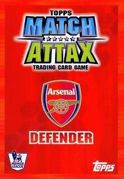 2007-08 Topps Premier League Match Attax #6 Philippe Senderos Back