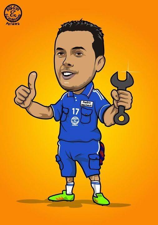 Chelsea Londyn posiada na pokładzie nowego mechanika samochodowego • Pedro Rodriguez mechanikiem Chelsea • Wejdź i zobacz więcej >> #pedro #chelsea #football #soccer #sports #pilkanozna