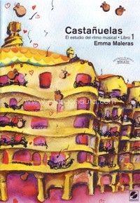 portada del Libro: Castañuelas: El estudio de ritmo musical, libro 1 (+CD)