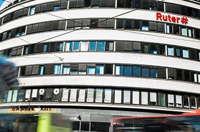Ruter#, Oslo: lamellgardiner, lydabsorberende og vanlige. http://kvintblendex.no/prosjekter/ruter/