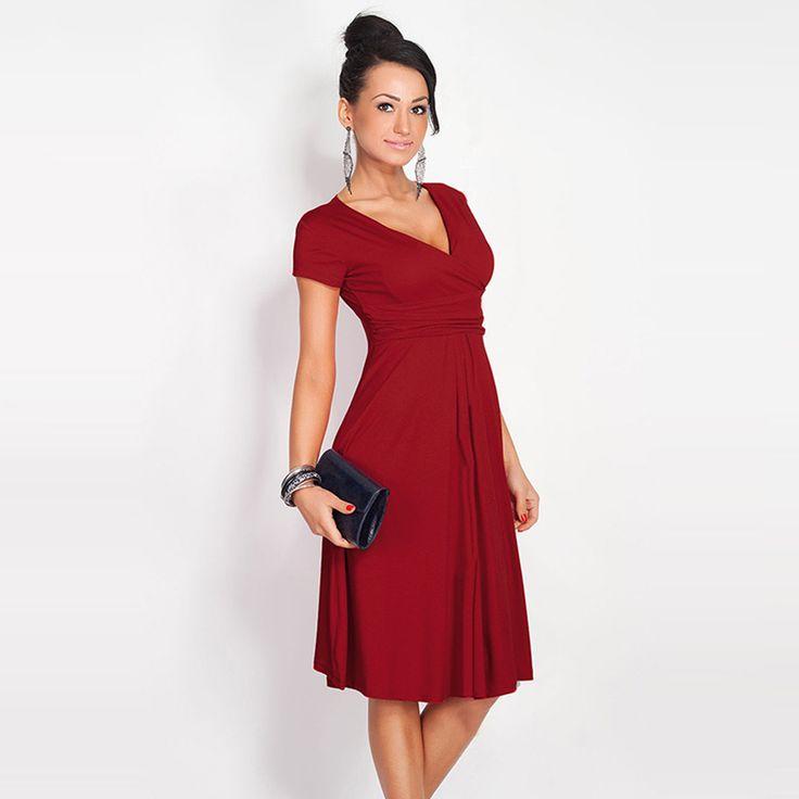Women's Pleated Dress //Price: $21.95 & FREE Shipping //     #stylish
