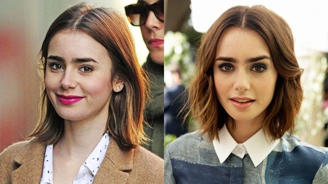 Lilly Collins Day to Night