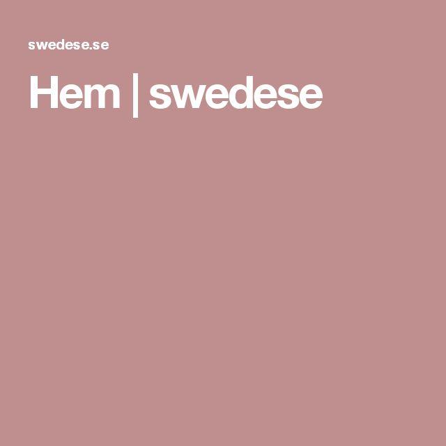 Hem | swedese