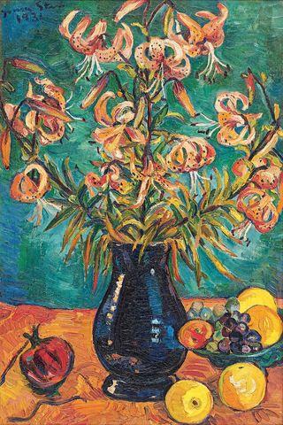 Tiger Lilies, Irma Stern