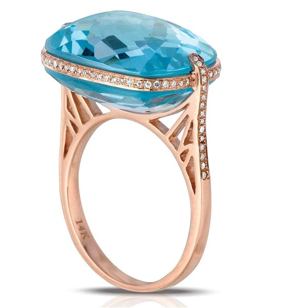DeJulie MM Blue Topaz Ring - Marco Moore - Product Search - JCK Marketplace