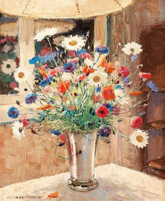 Художник Olle Hjortzberg (1872 – 1959)