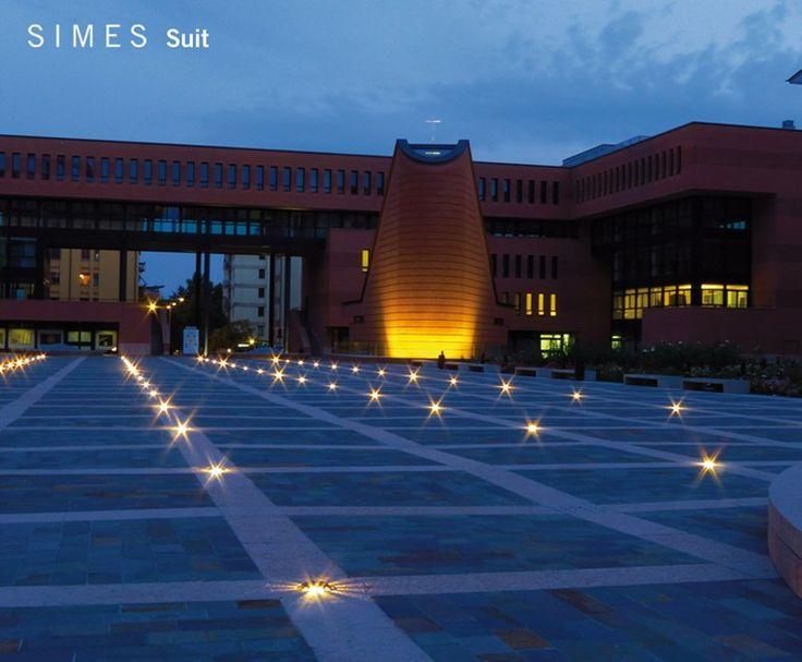 Lámpara de pie LED SUIT - SIMES