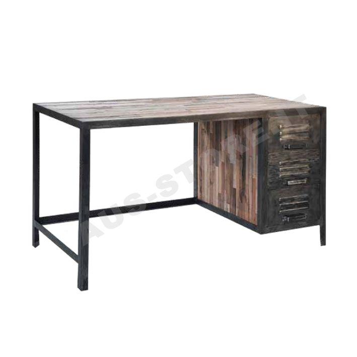 edito scrivania in stile industriale - aus-store.it
