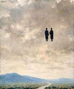 René Magritte - The Art of Conversation (1963)