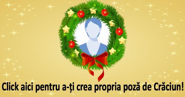 Click aici pentru a-ți crea propria poză de Crăciun!