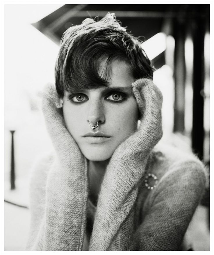 Stella Tennant by Steven Meisel for british Vogue.