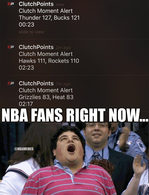 RT @NBAMemes: What a day for the NBA today. #ClutchMoments (via @ClutchPointsApp) RT if you remembe - http://nbafunnymeme.com/nba-funny-memes/rt-nbamemes-what-a-day-for-the-nba-today-clutchmoments-via-clutchpointsapprt-if-you-remembe