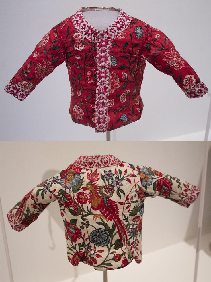Baby jackets from Hindeloopen