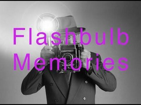 Flashbulb Memories - Psych Yogi's Short Explanations  http://www.psychyogi.org/articles/flashbulb-memories/
