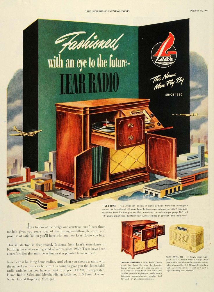 Lear Radio (1946).