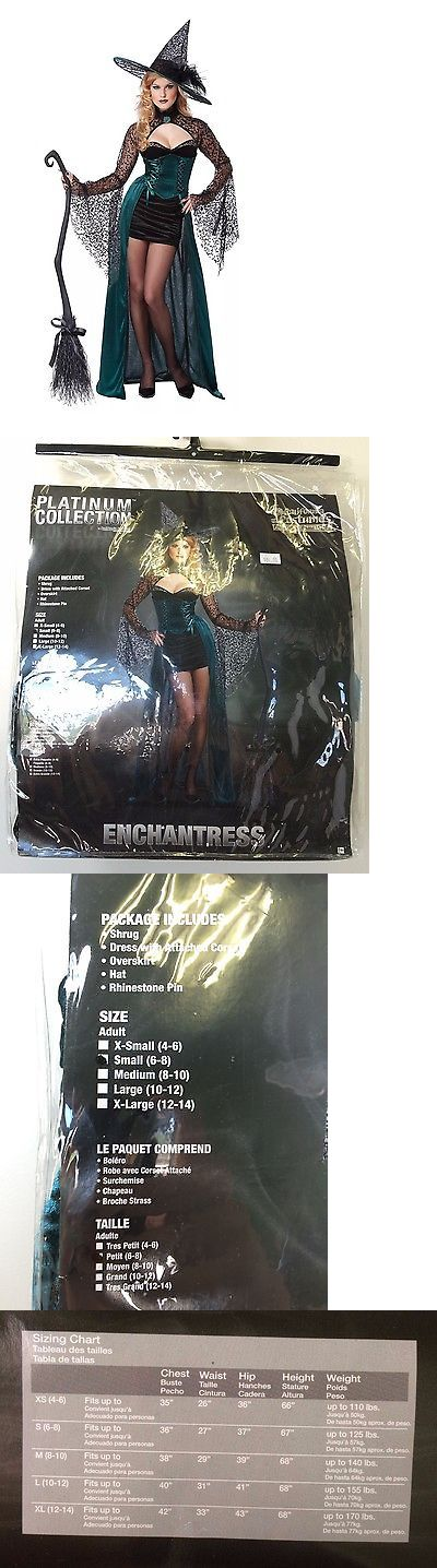 Women Costumes: New California Costumes Enchantress Halloween Witch Costume Size S Or 6 8 BUY IT NOW ONLY: $29.99