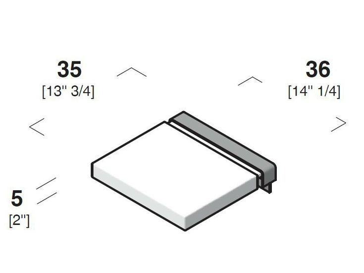 GIANO Sedile doccia by Rexa Design design Imago Design