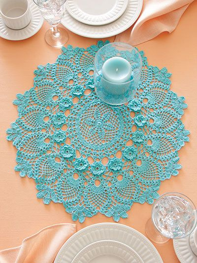 40+ Crochet Patterns Fun With Color in Thread Doilies Trims Purse Coasters Shawl