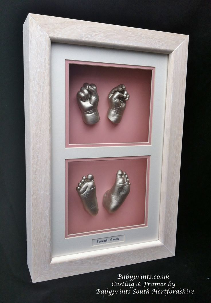 Lovely little hands and feet framed together x