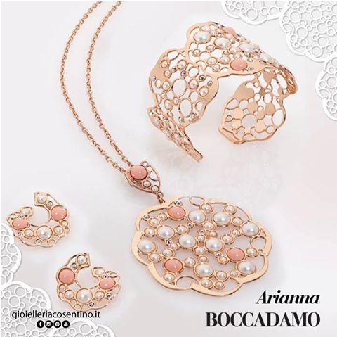 BOCCADAMO | Collezione Arianna ▪ Disponibile presso Gioielleria Cosentino, Corso Manfredi 181 | Manfredonia (FG) | 0884.512858 FIND MORE ► http://www.gioielleriacosentino.it/it/brands #gioielleriacosentino #jewels #boccadamo #boccadamojewels #handmade #italiandesign