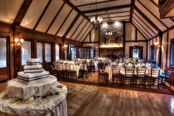 Lake Valhalla Club, in Montville,NJ. Rustic vibe, lakefront view, fireplaces, great food and caring staff; love it!!!