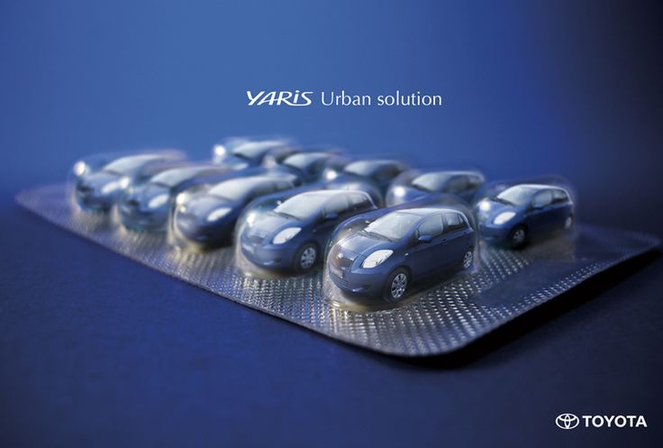 Toyota Yaris - Urban selection | #ads #adv #marketing #creative #publicité #print #poster #advertising #campaign < repinned by www.BlickeDeeler.de | Have a look on www.Printwerbung-Hamburg.de