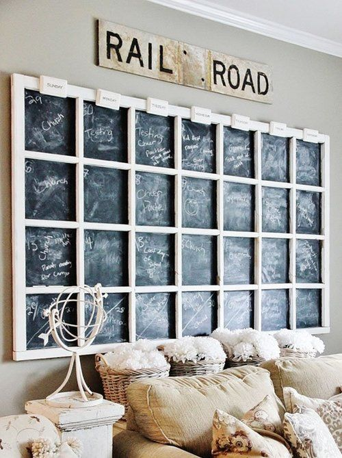 27 best diy home decor ideas images on pinterest home furniture projects and furniture makeover Home decor wall calendar