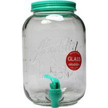 Walmart: Aladdin 1 Gal Glass Mason Beverage Dispenser $9