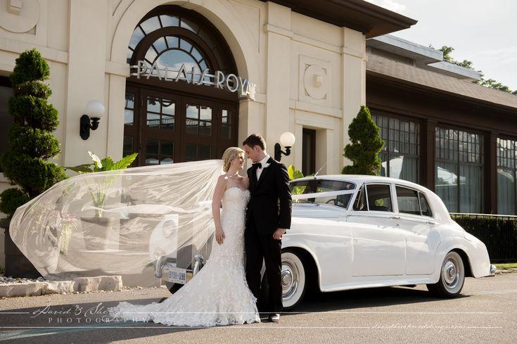 Rolls Royce in front of #palaisroyaleballroom