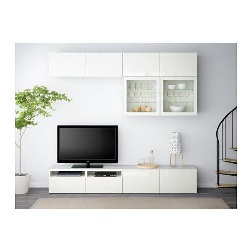 svaln s combinaison de rangement murale bambou blanc runners glasses and storage. Black Bedroom Furniture Sets. Home Design Ideas