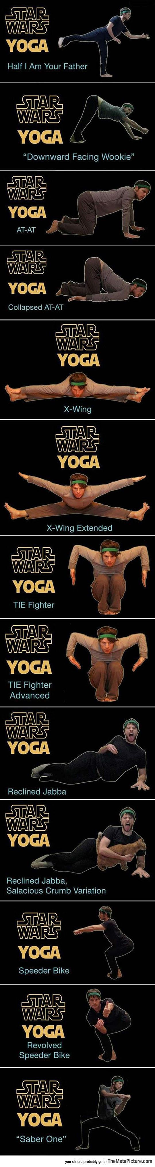 Star Wars Yoga Is Best Yoga
