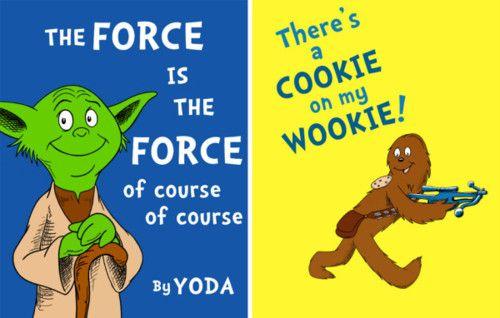 If Dr. Seuss createdStar Wars by Jason Peltz: Create Stars, Nerd Alert, Awesome, Stars War, Star Wars, Book, Funny Stuff, Dr. Seuss, War Meeting