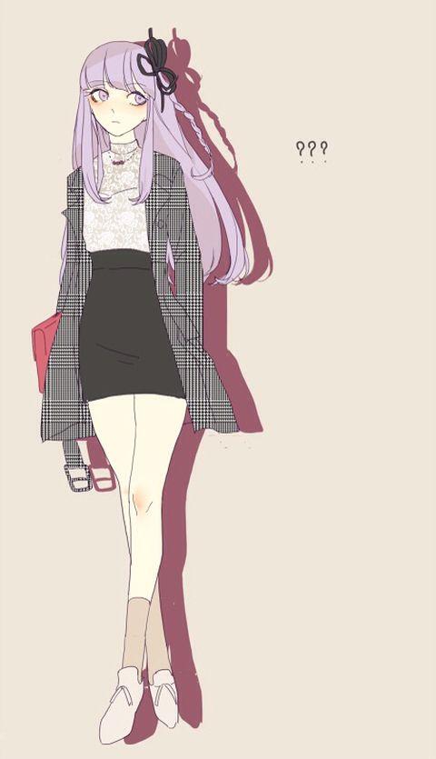 Danganronpa Anime Characters : Kirigiri naegi and pinterest anime