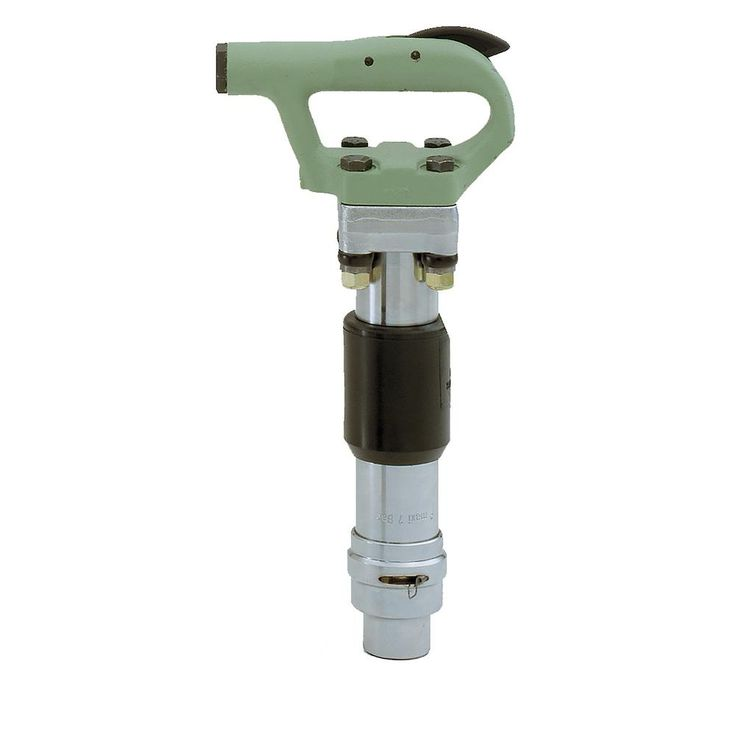 MCH-4 Air Powered Round Chuck Chipping Hammer with Oval Collar Retainer