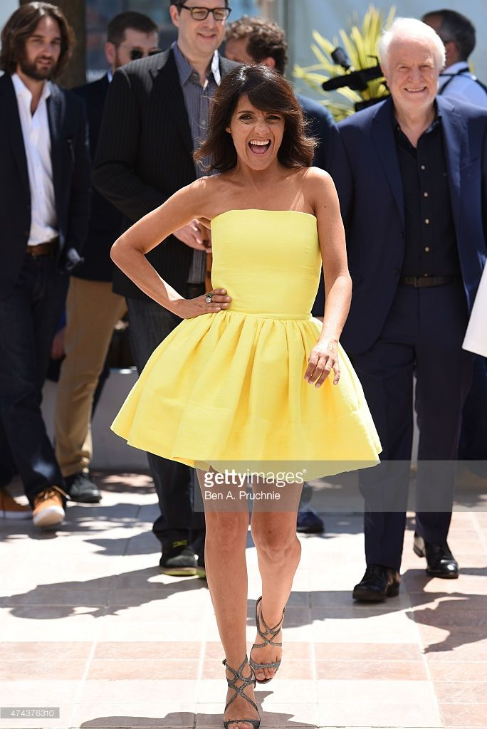 Florence Foresti attends a photocall for 'The Little Prince' during the 68th annual Cannes Film Festival on May 22, 2015 in Cannes, France.
