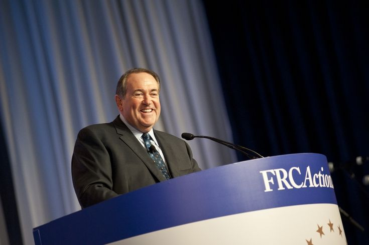 HUCKABEE THREATENS TO LEAVE GOP OVER 'GAY' MARRIAGE' 10.8.14 I'll become an independent and I'll start finding people that have guts to stand'