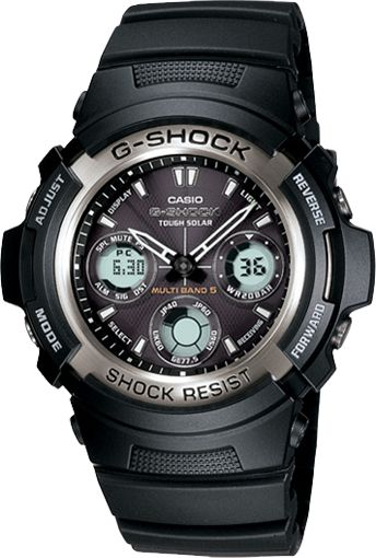 "G-Shock ""AWG100 Solar Atomic"". My most favorite watch. My wife got it for me in NY. Remember Honey?"
