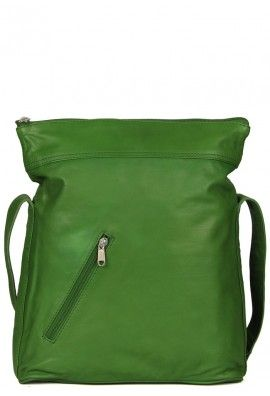 FOREVER GREEN LEATHER BAG