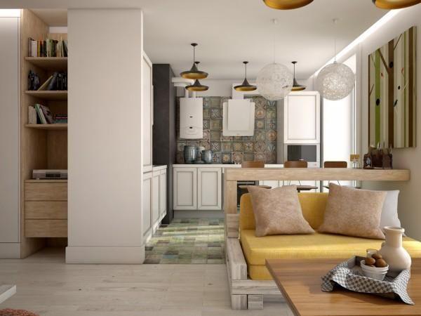 """【设计】赶快改造你的""""狗窝""""了,看看人家的单身小型公寓怎么设计吧!"""