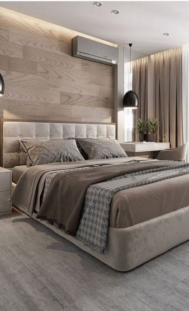 57 New Trend And Modern Bedroom Design Ideas For 2020 Part 47