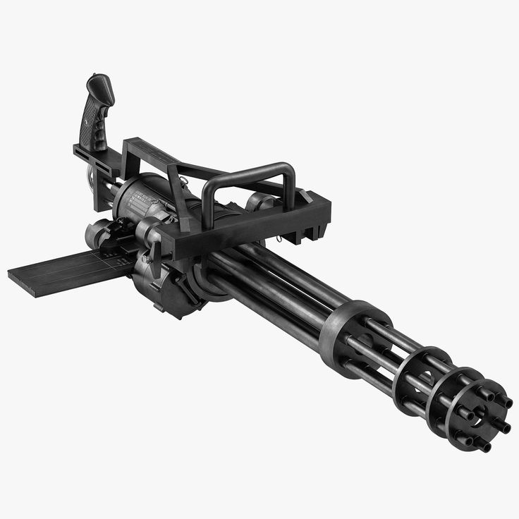 Картинка пулемет на прозрачном фоне