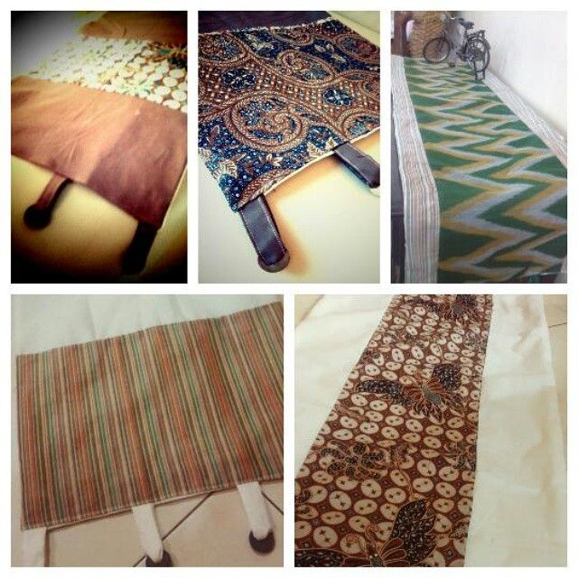Table runner, available with cushion covers… by @ekyhandayani - Square Pics