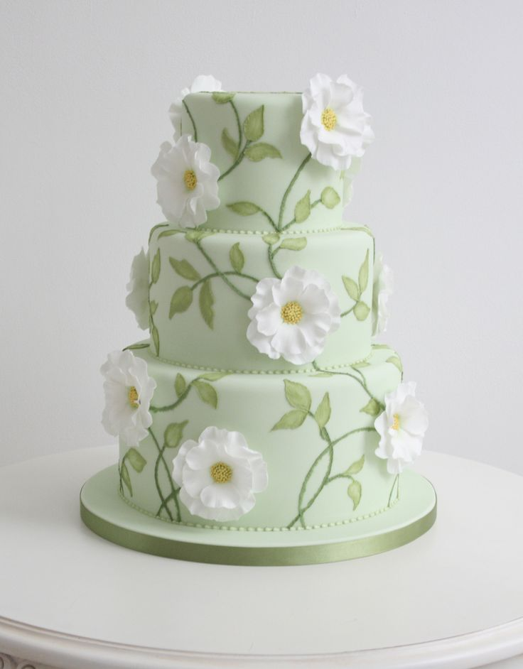 Wedding cake: Zoe Clark Cakes The best part about this cake is the detailed piping that makes you believe that fabric was stitched into the cake. Description from pinterest.com. I searched for this on bing.com/images