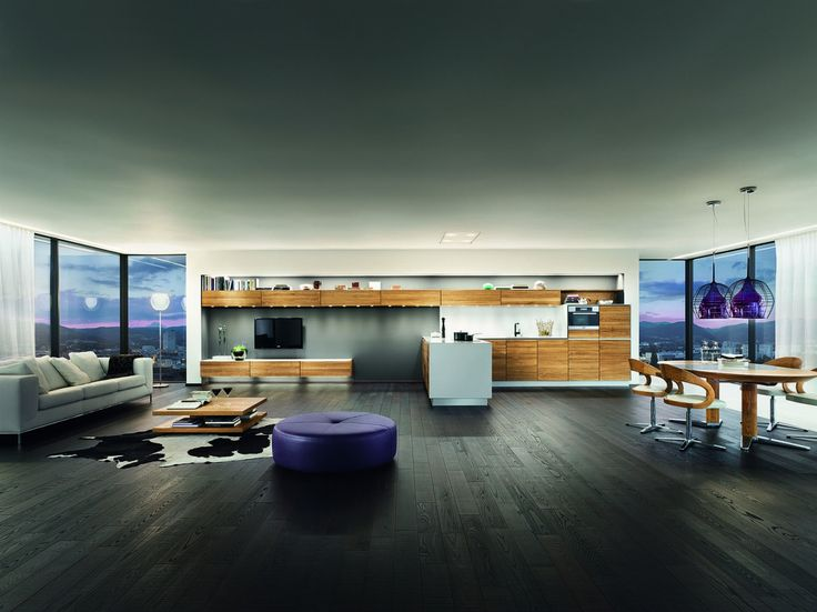 Vao kuchyně ve spojení s obývacím pokojem. / multifunctional living space (kitchen with living room)