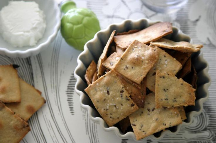 Home Made Olive Oil Crackers {Seeded Semolina and Honey Raisin} - The Way to My Family's Heart: