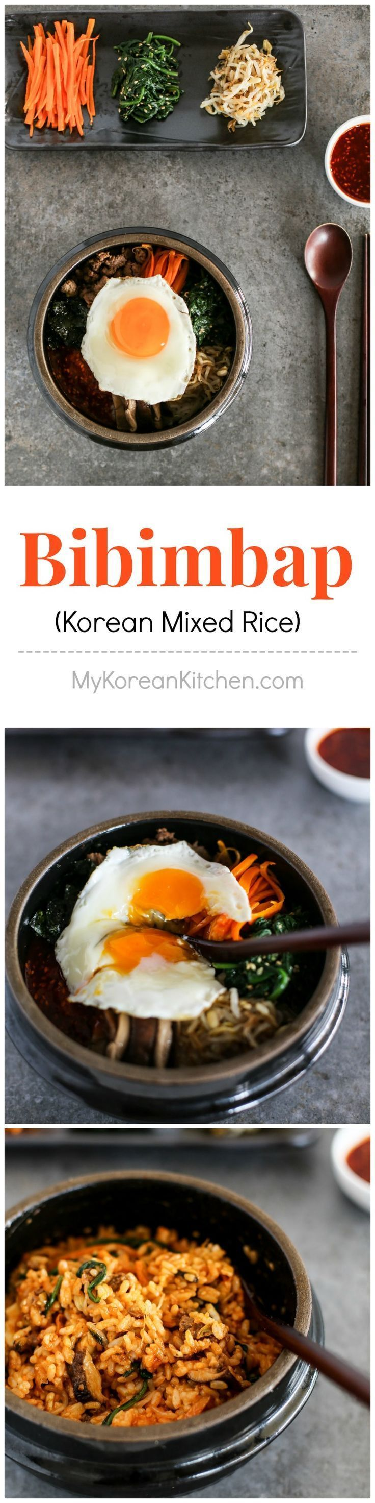 Addictively delicious Bibimbap recipe | MyKoreanKitchen.com
