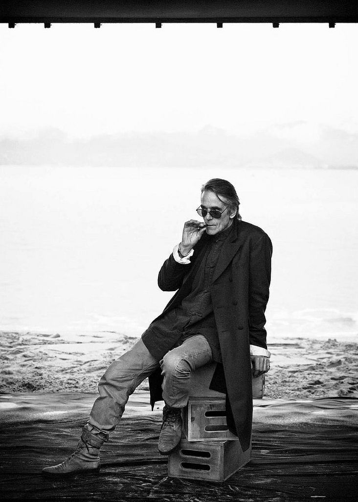 Jeremy Irons  by Peter Lindbergh