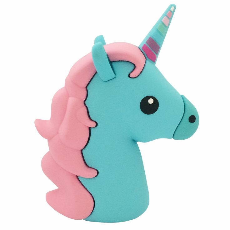 Majestic Unicorn Emoji Powerbank charger for iOS & Android (Blue) #glam #cinderbloqcases #quality #trends #chic #style #laptop #mobilecase #iphone #casecover #cute #phonecase #macbook #samsung #pattern