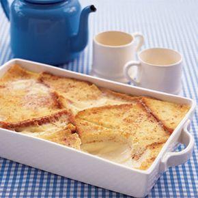 Nellie's Custard Bread Pudding